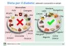Dieta per diabete: alimenti e menù per i diabetici
