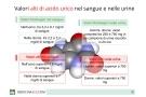 Acido urico alto nel sangue e nelle urine: cause, sintomi e rimedi