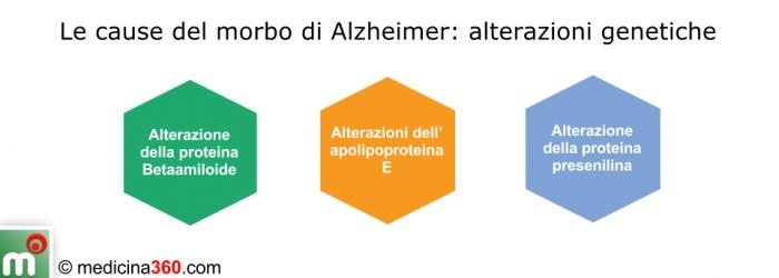 Le cause del morbo di Alzheimer