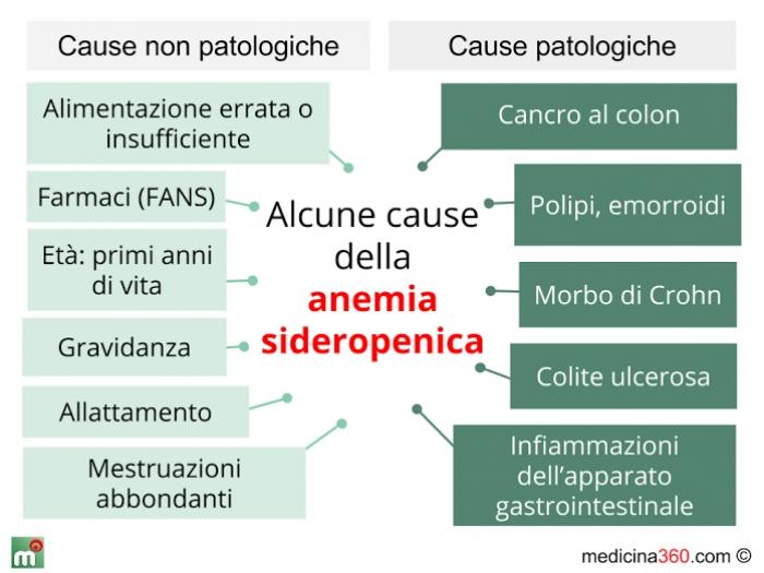 Anemie sideropenica | Catena