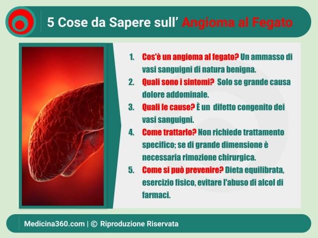Angioma al fegato