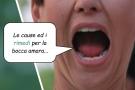 Bocca amara: cause e rimedi per il sapore amaro in bocca