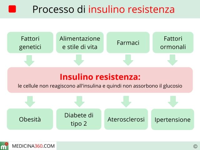 Insulino resistenza: sintomi, cause, diagnosi, dieta  e cura
