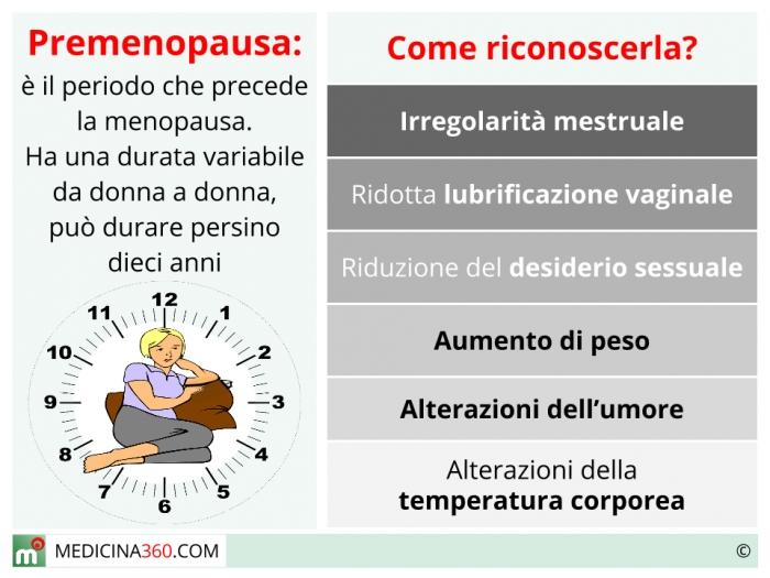 sintomi menopausa precoce e gravidanza