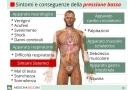 Pressione bassa sintomi e conseguenze