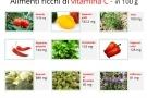 Vitamina c: alimenti che ne sono ricchi, proprietà, benefici e controindicazioni